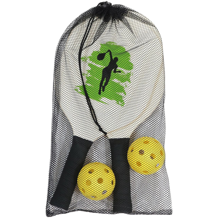 Paddles and Balls in Bag