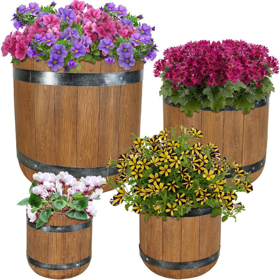 4-Piece Planter Set