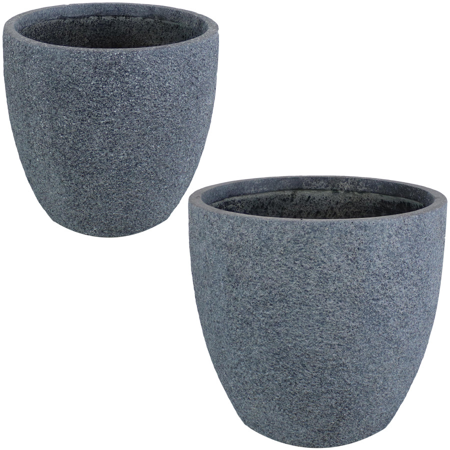 """One 12"""" and One 15"""" Planter"""