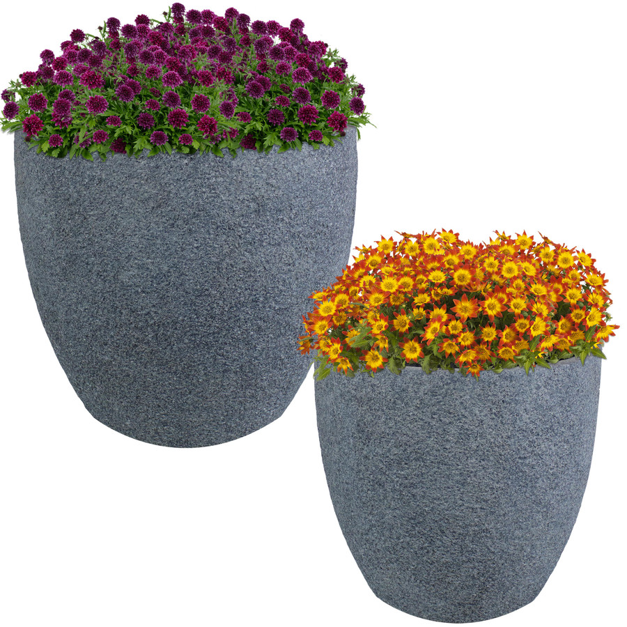 """One 15"""" and One 17"""" Planter"""