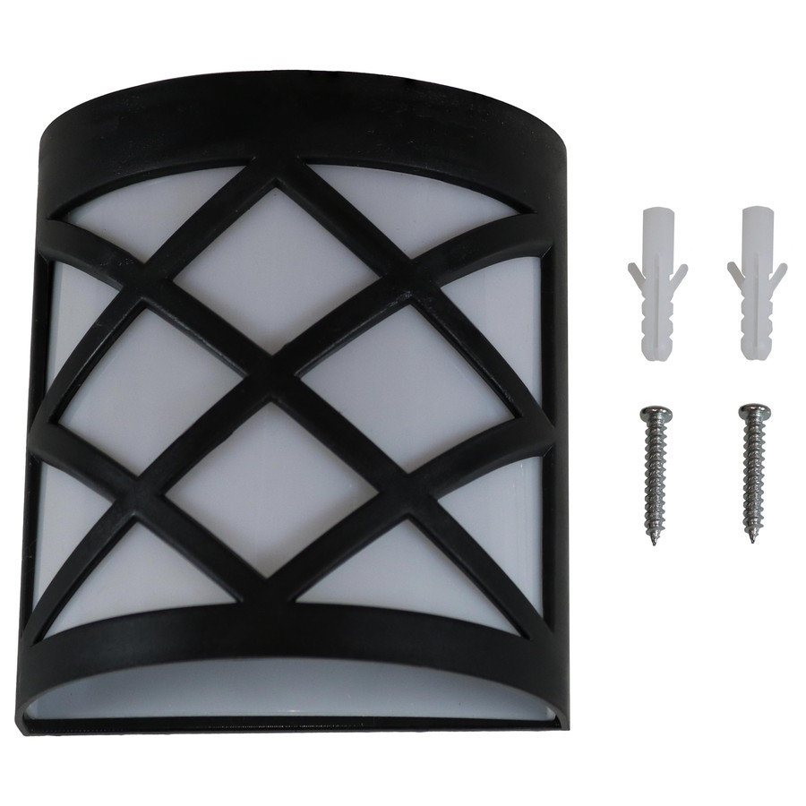 Components of Outdoor Solar LED Wall Mount Lights