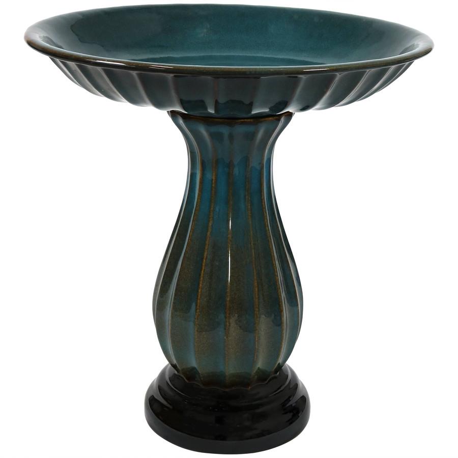 Classic Ceramic Bird Bath