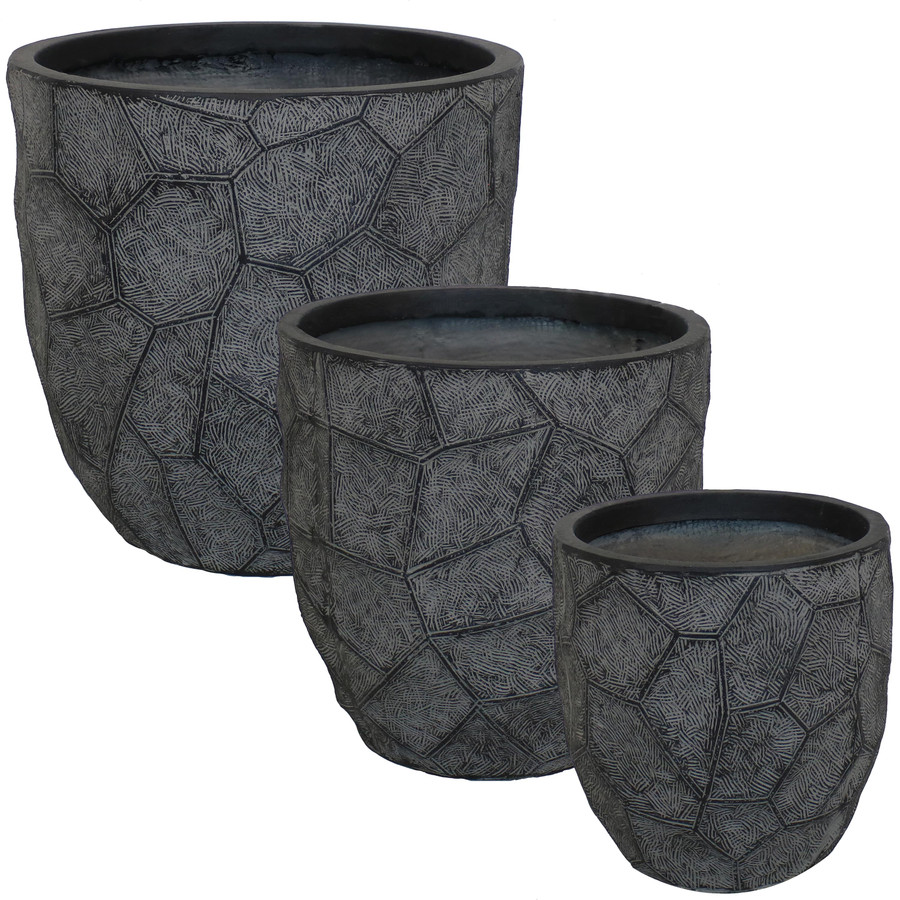 3-Piece Set Dark Gray
