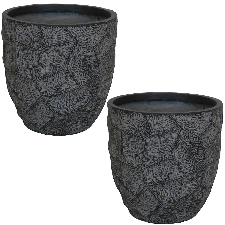 "12"" Set of 2 Dark Gray"