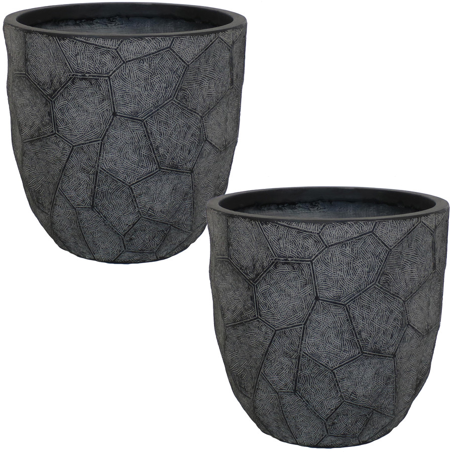 "15"" Set of 2 Dark Gray"