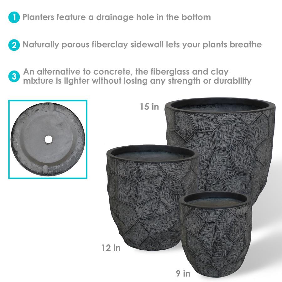 Dark Gray Infographic