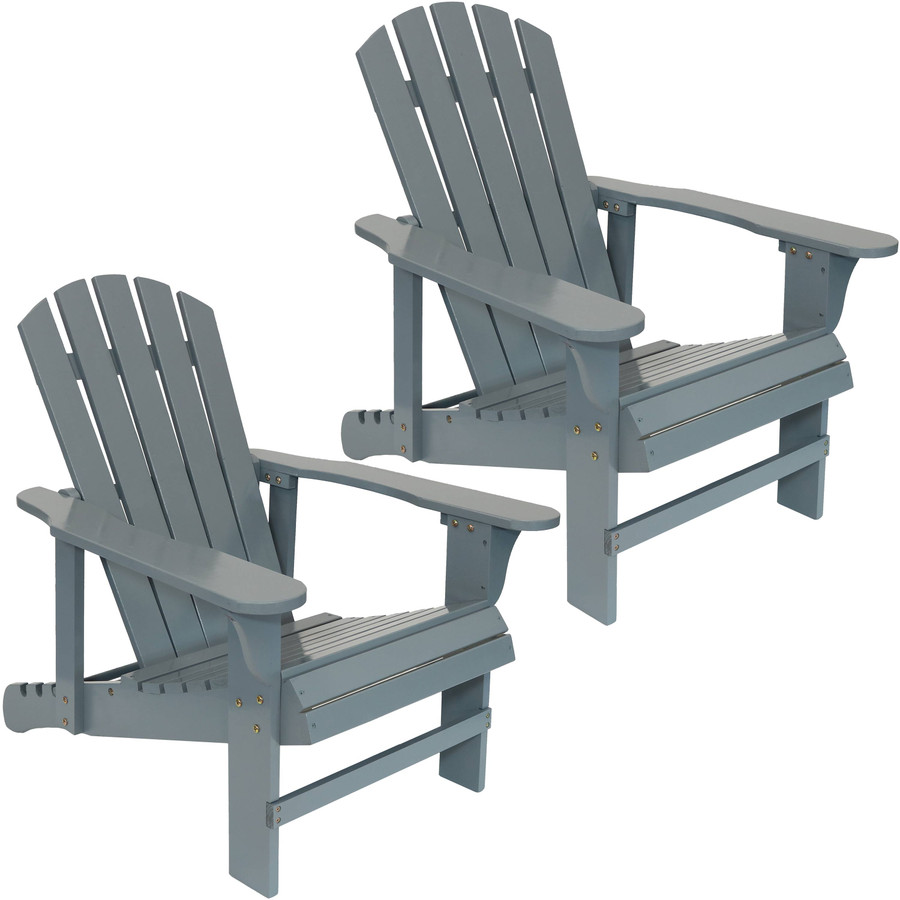 Set of Two Chairs, Gray