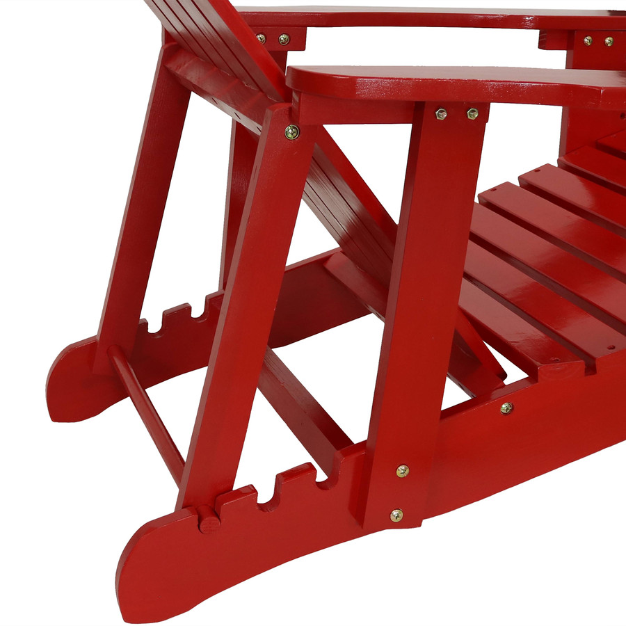 Closeup of Adjustable Section, Red