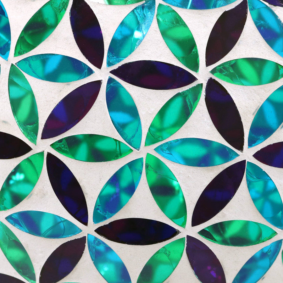 Closeup of Mosaic Design