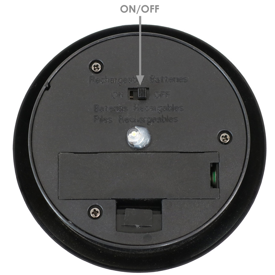 Closeup of On/Off Switch