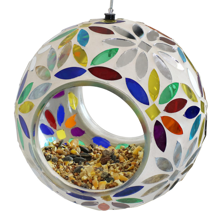 Bird Feeder with Seed