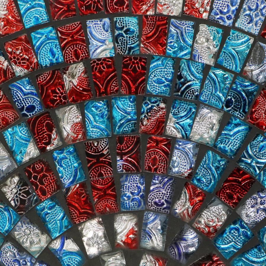 Closeup of Mosaic Tiles