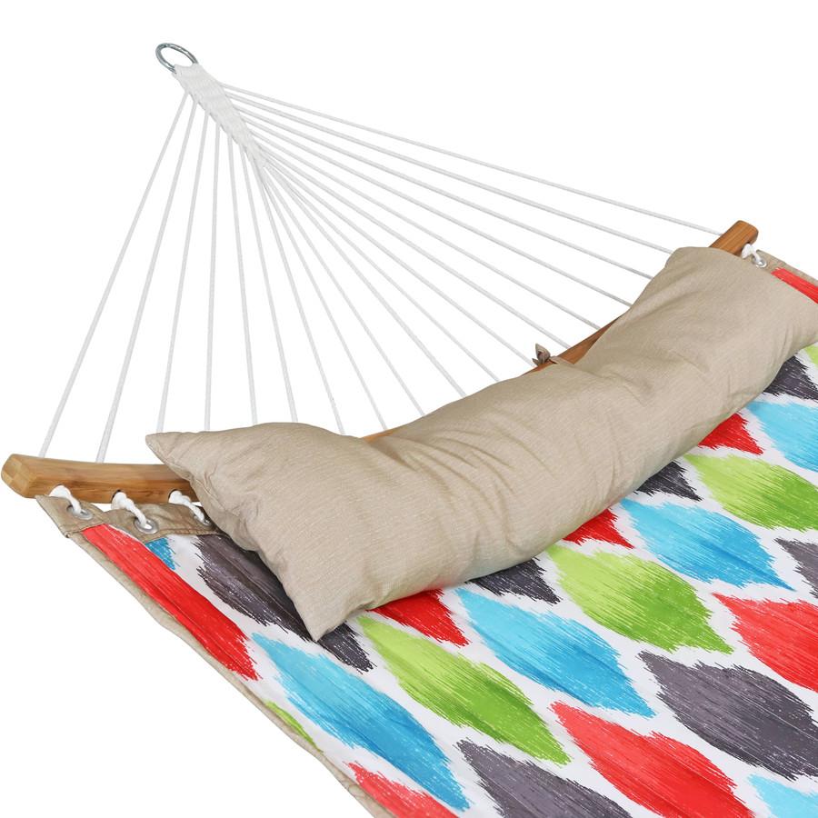 Vivid Multi-Color Pillow