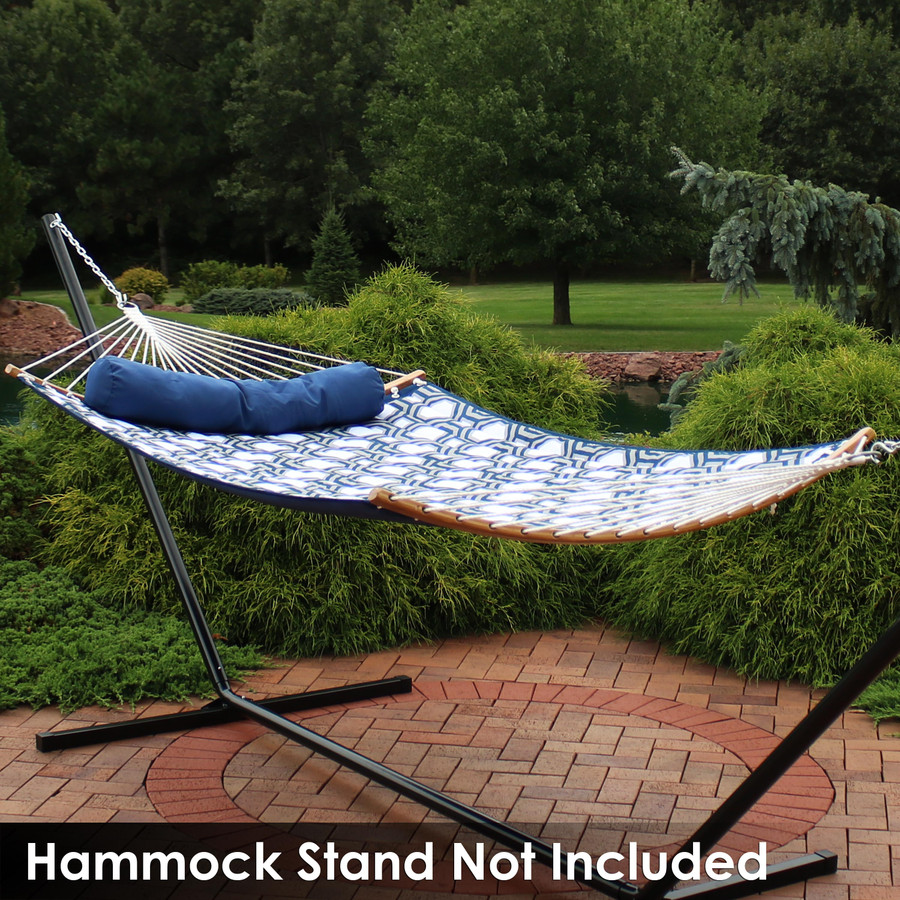 Navy & Gray (Hammock Stand Not Included)