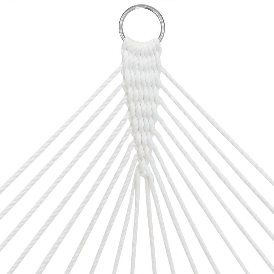 Closeup of Hammock Ropes and Ring