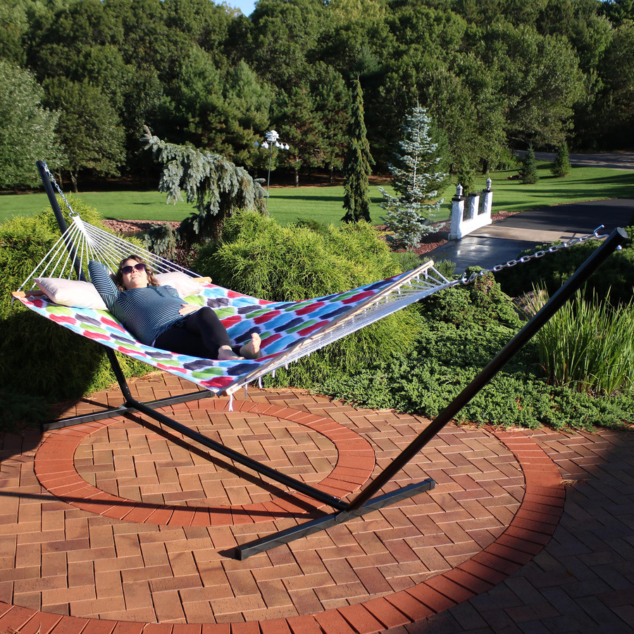Hammock and 15-Foot Stand Combo