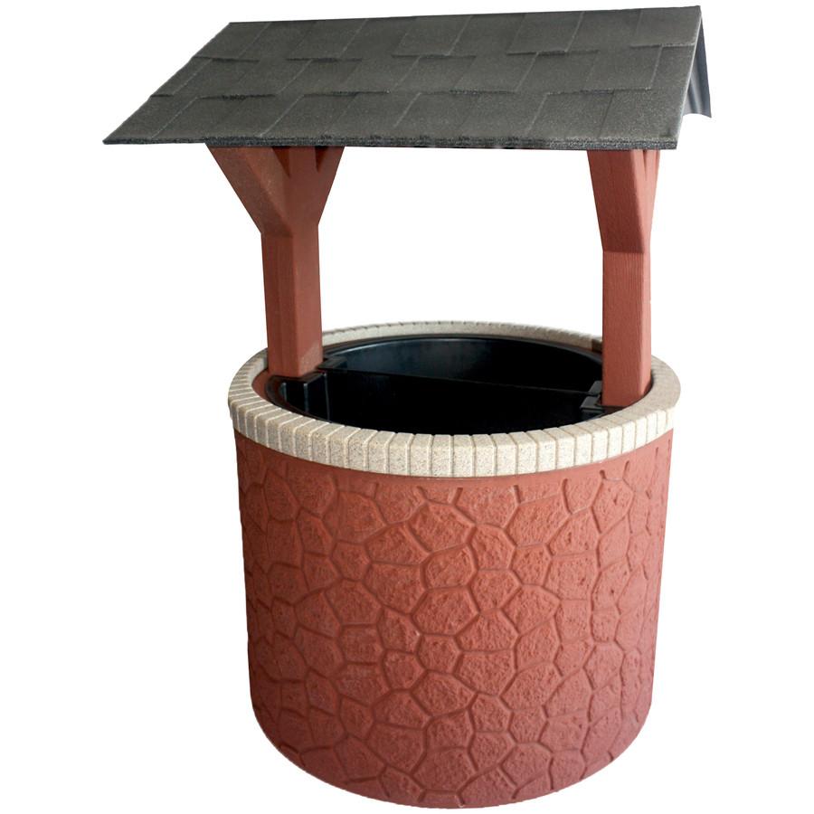 Brick Base/Dark Granite Roof