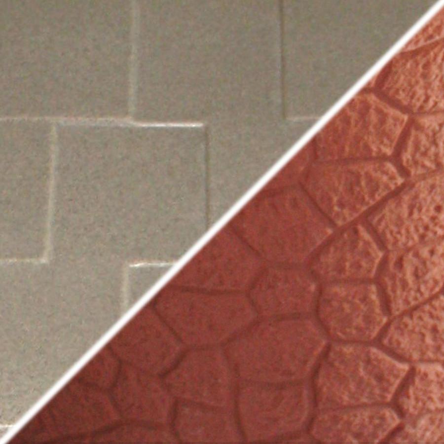 Brick Base/Beige Roof Swatch