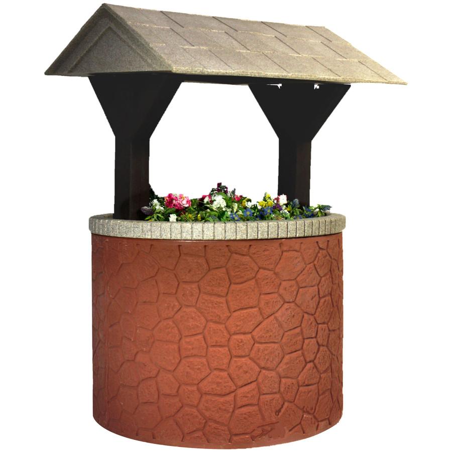 Brick Base/Beige Roof