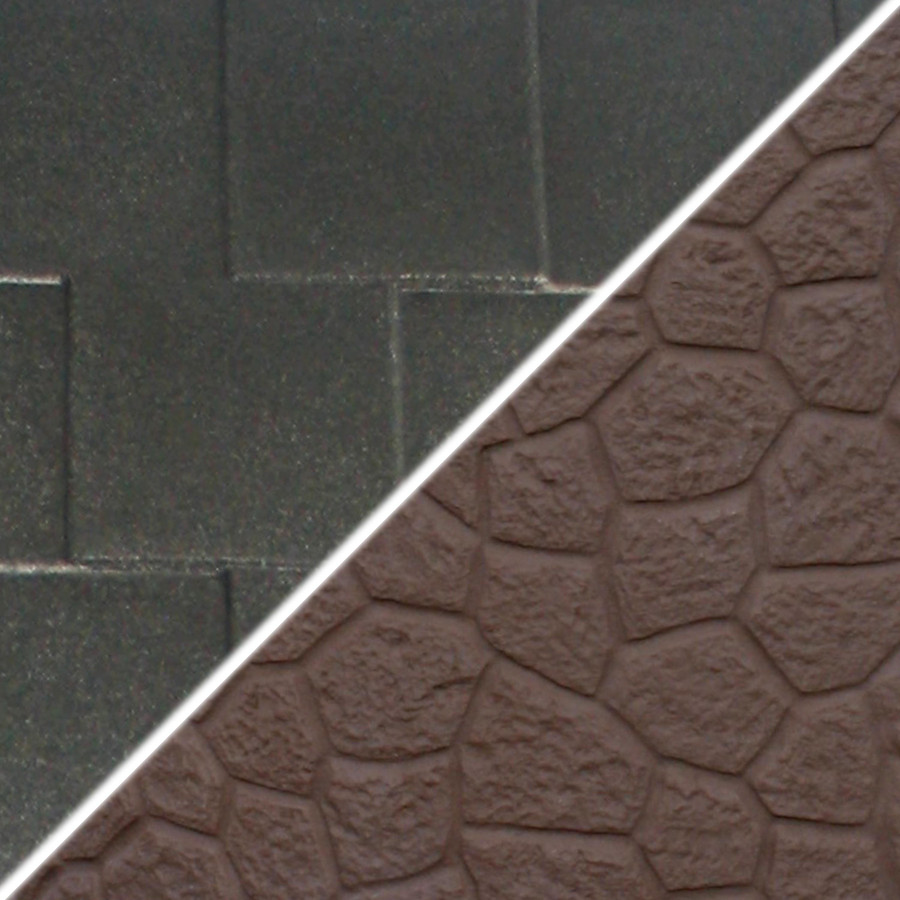 Brown Base/Dark Granite Roof Swatch