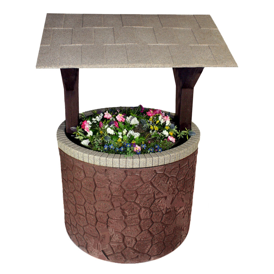 Brown Base/Beige Roof Swatch