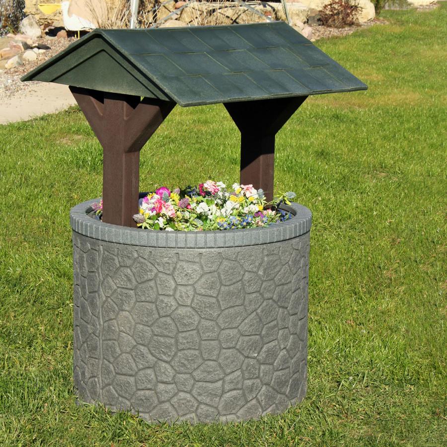 Granite Base/Hunter Green Roof