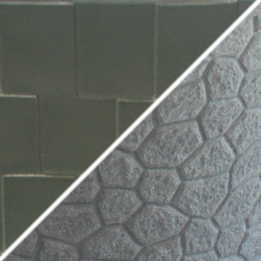 Granite Base/Hunter Green Roof Swatch