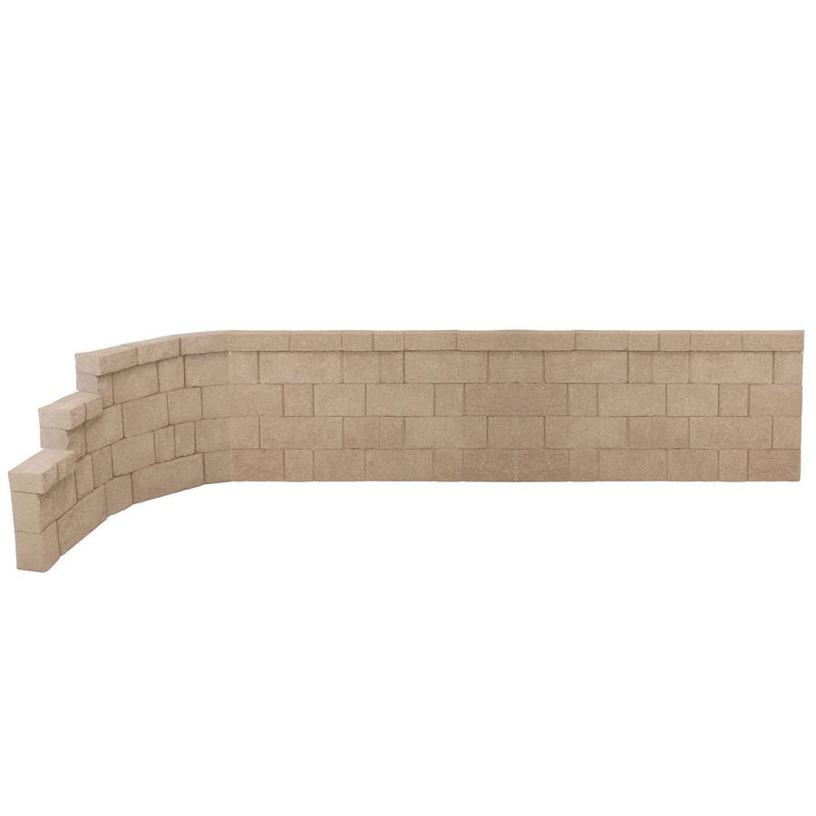 2 Straight Panels and 1 Left Curve Panel (SKU: ECM-8223)