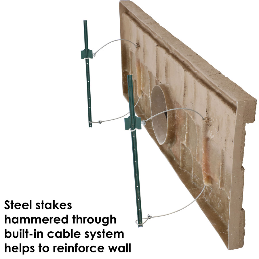 Panel with Stakes