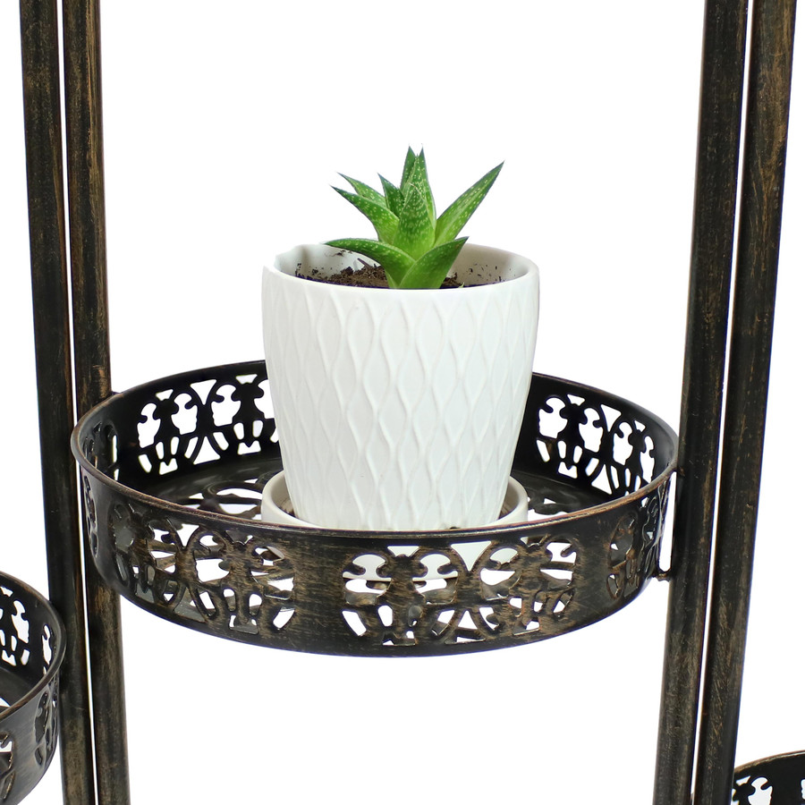 Closeup of Individual Plant Holder with Plant (Plant Not Included)