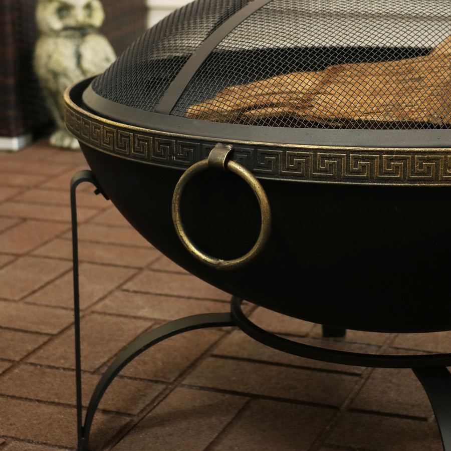 Closeup of Fire Bowl