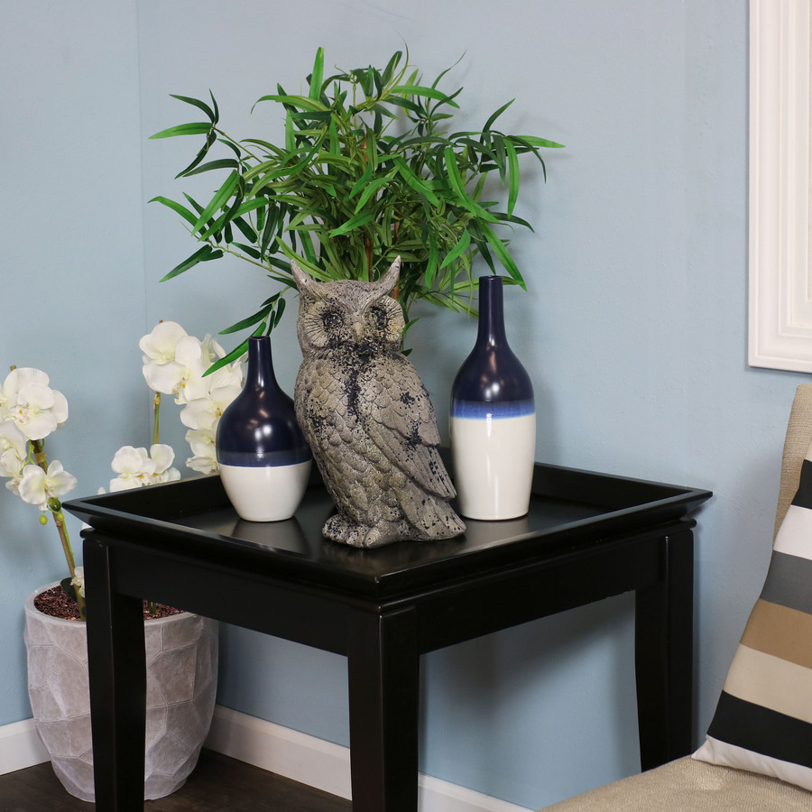 Great Horned Owl Statue, Indoors