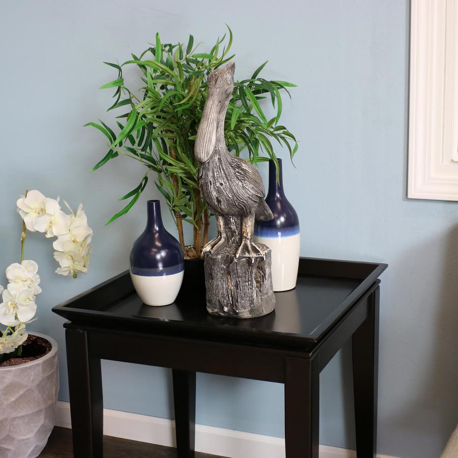 Pelican's Perch Statue, Indoors