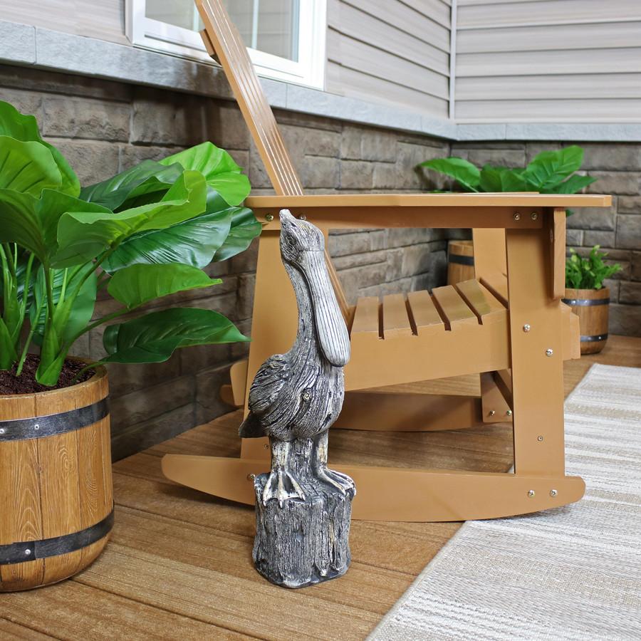 Pelican's Perch Outdoor Garden Statue