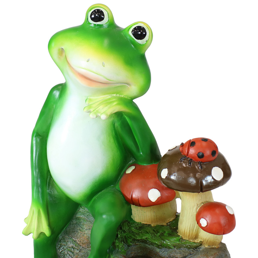 Frog Close Up