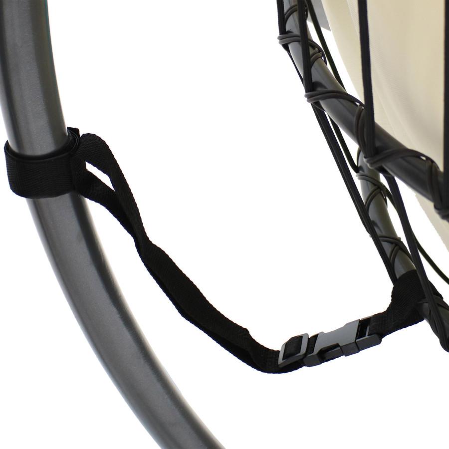 Closeup of Safety Strap, Cream