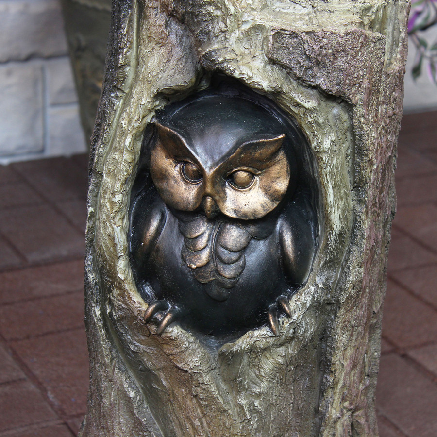 Closeup of Lower Owl