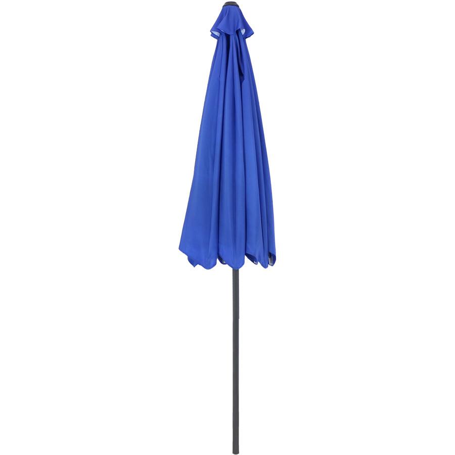 Blue Starry Galaxy Patio Umbrella (Closed)