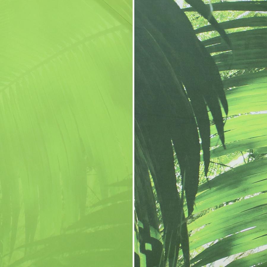 Green Tropical Leaf Patio Umbrella Swatch