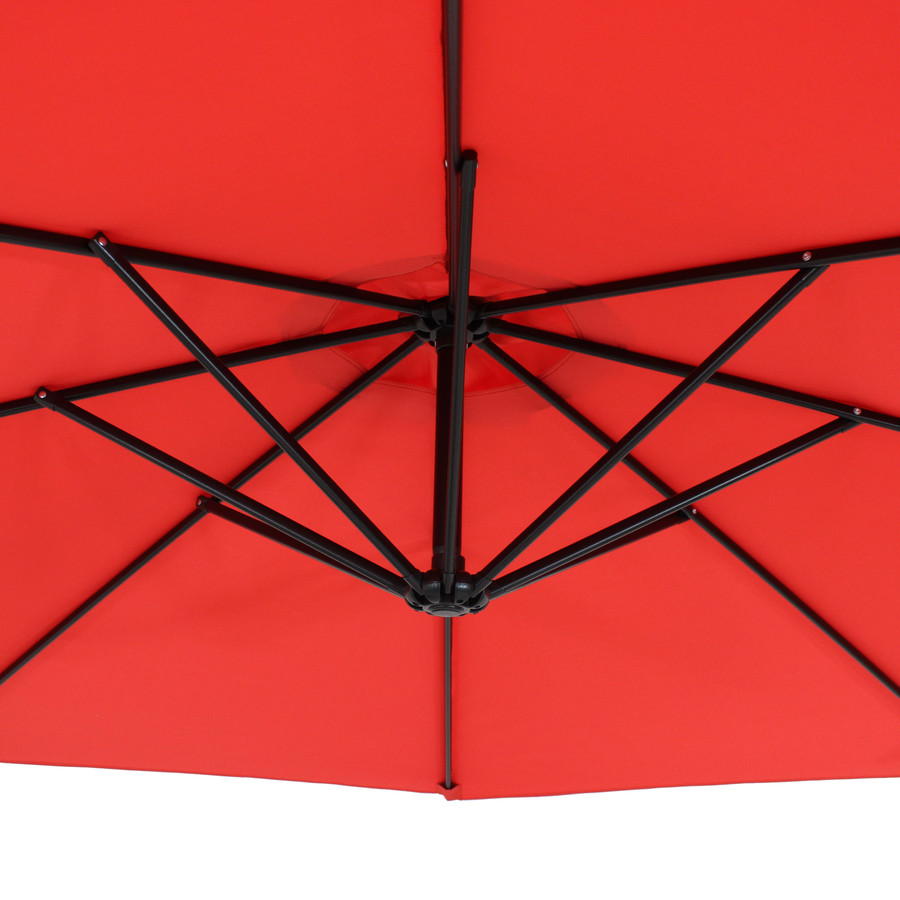 Closeup of Underside of Umbrella, Cherry