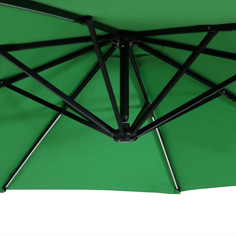 Closeup of Underside, Emerald