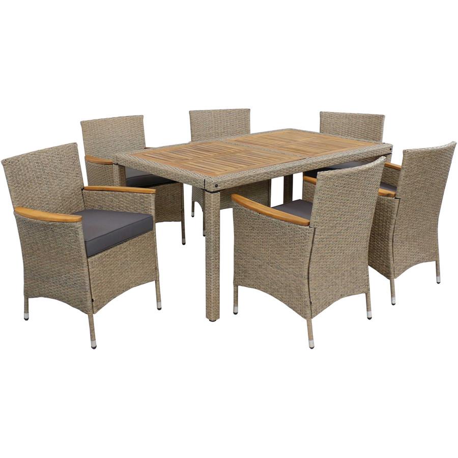 Foxford 7-Piece Outdoor Patio Dining Set