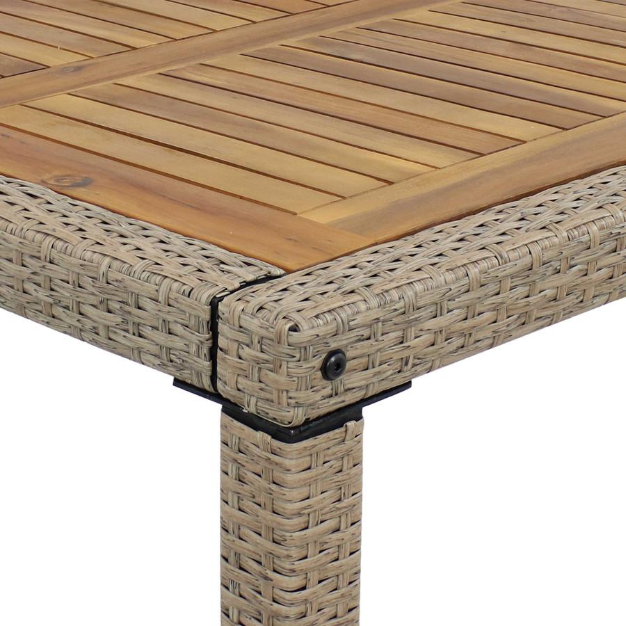 Closeup of Corner of Table