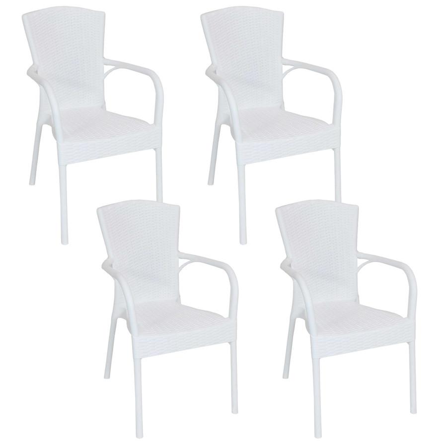 White Set of 4