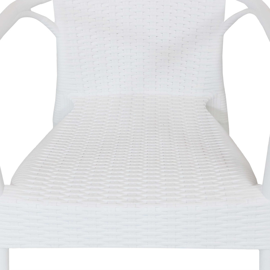 White Seat Closeup