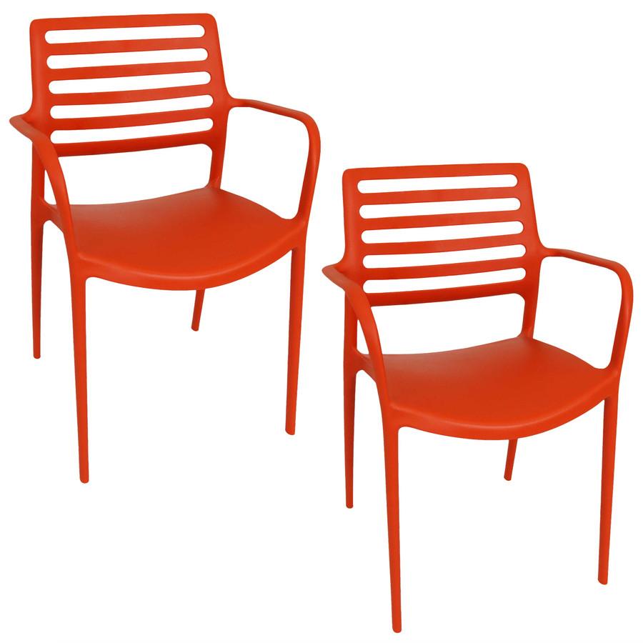 Orange Set of 2