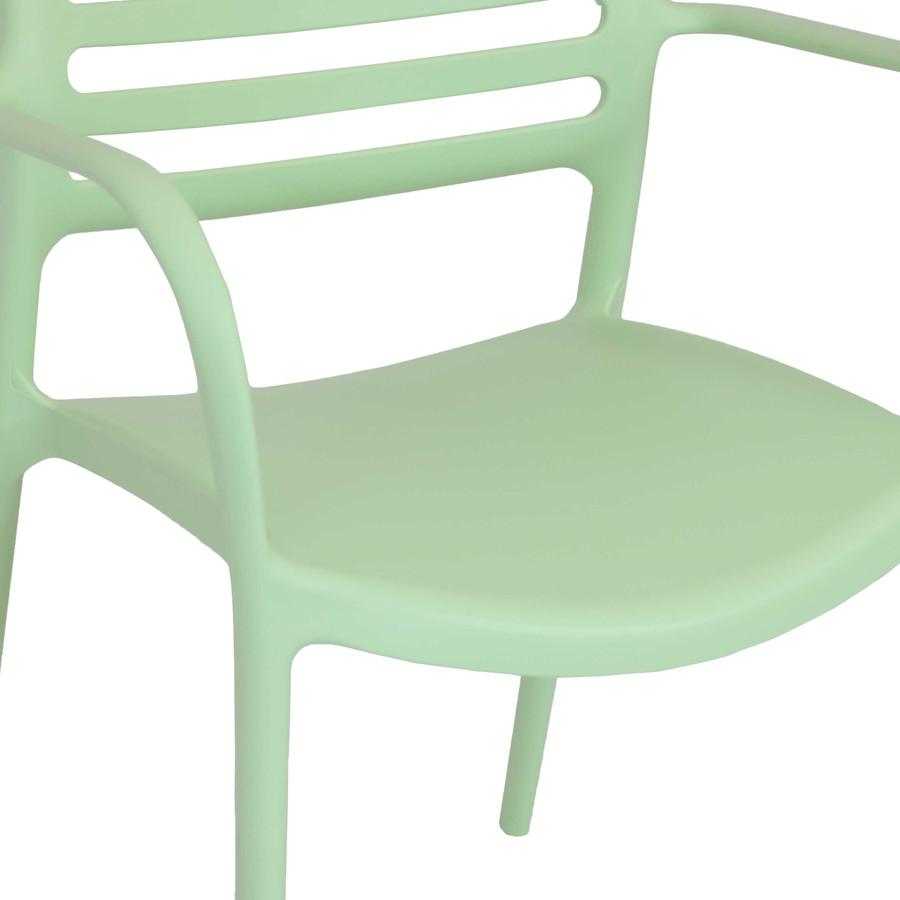 Light Green Seat Closeup