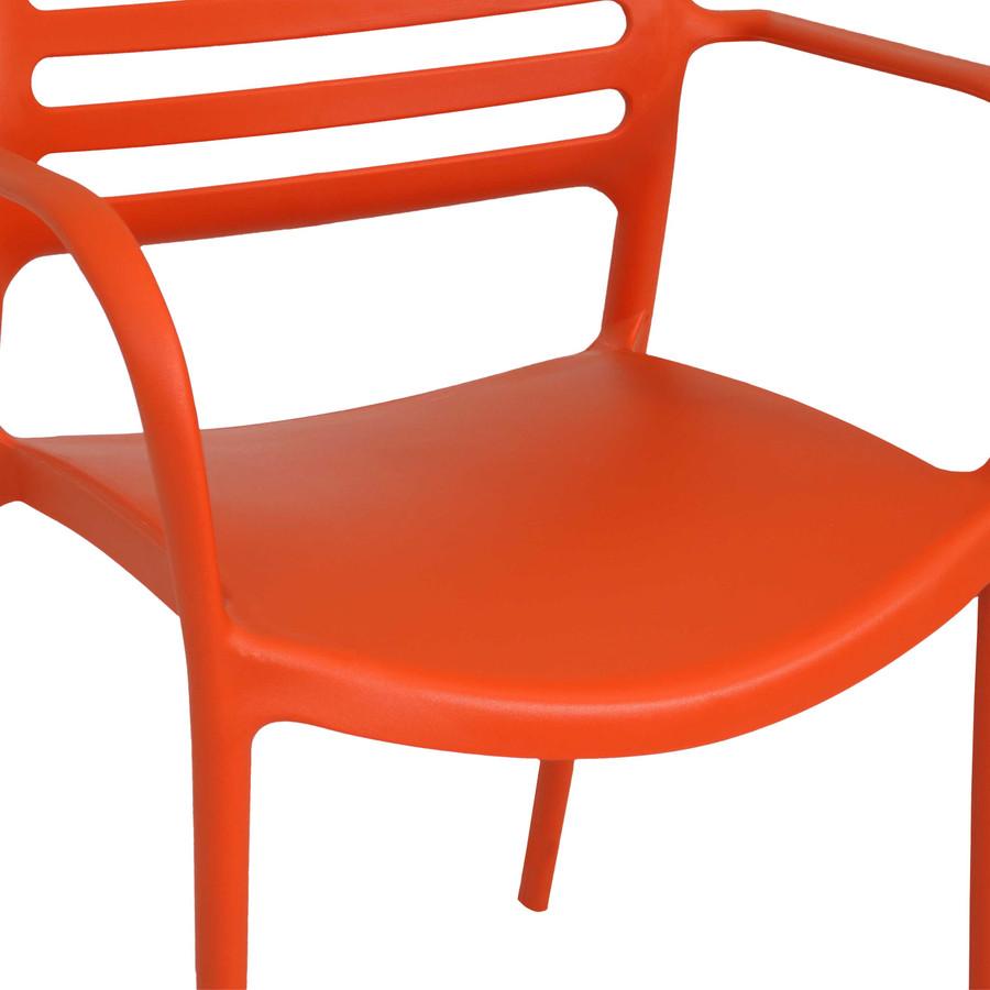 Orange Seat Closeup