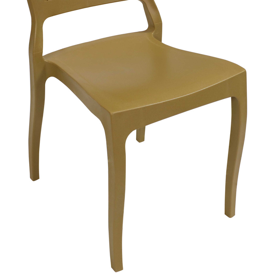 Wood Brown Seat Closeup