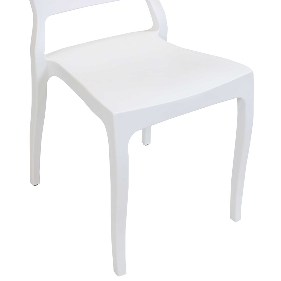 White Seat Closeup